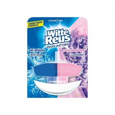 Witte Reus Toiletreiniger duo actief lavendel