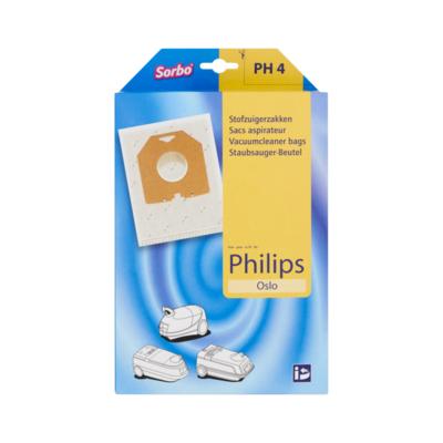 Sorbo PH 4 Stofzuigerzakken voor Philips Oslo