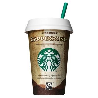 Starbucks discoveries cappuccino
