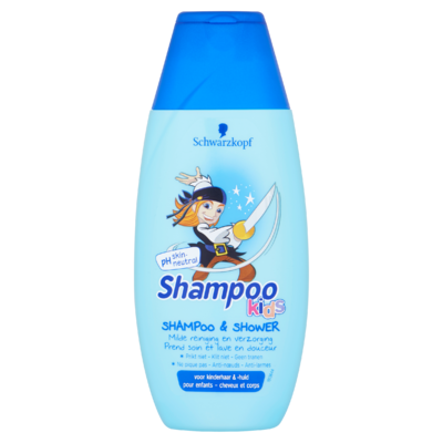 Schwarzkopf Kids Jongens Piraat Shampoo & Douchegel 250 ml