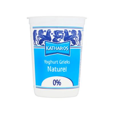 Katharos Yoghurt Grieks Naturel 0%