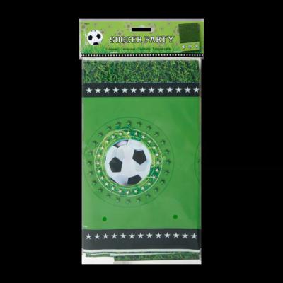 Soccer Party Tafelkleed 180 cm x 130cm