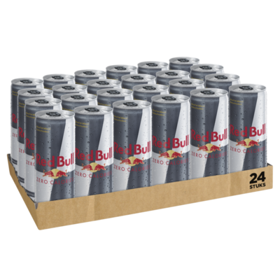 Red Bull Zero Calories Tray