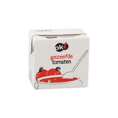 Budget Huismerk Tomaten gezeefd