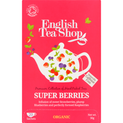 English Tea Shop Tea organic biologisch superberries 20 zakjes