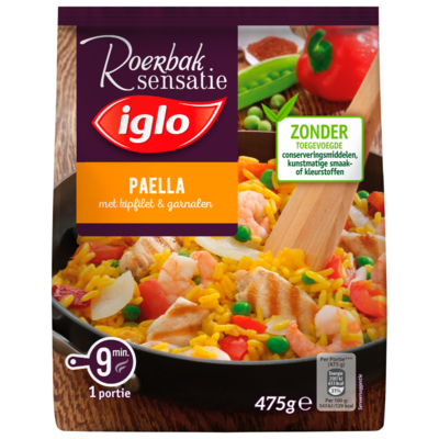 Iglo Spaanse paella