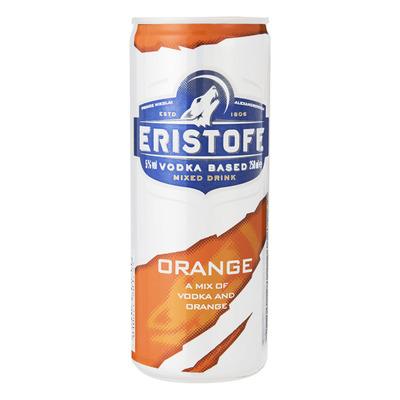 Eristoff Vodka met jus d'orange