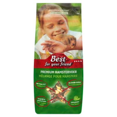 Best For Your Friend Premium hamstervoer