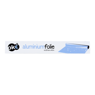 Budget Huismerk Aluminiumfolie 40 meter