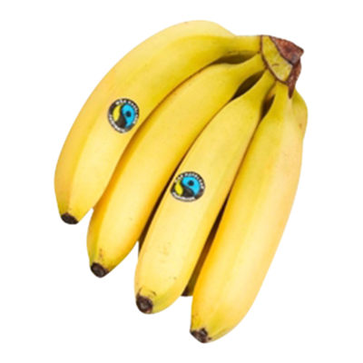 Huismerk Kinderbananen Fairtrade