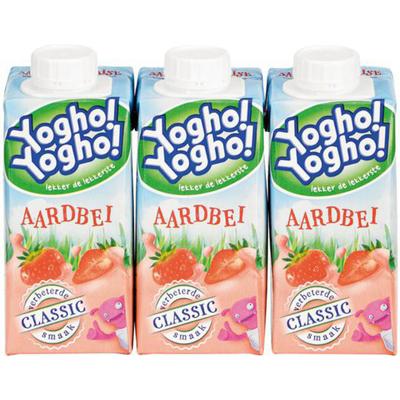Yoghurtdrank Aardbei 3p