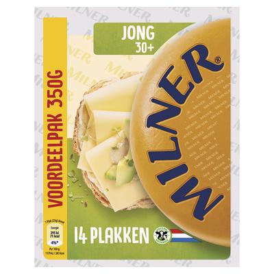 Milner Jonge kaas 30+ voordeelverp.