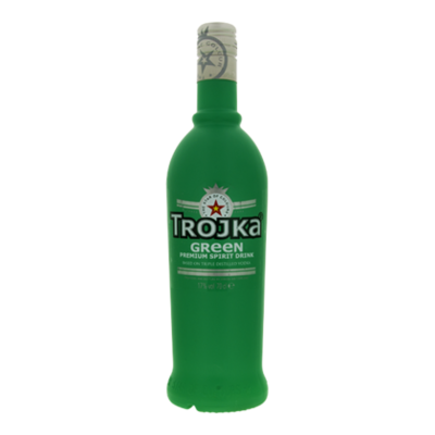 Trojka Vodka green
