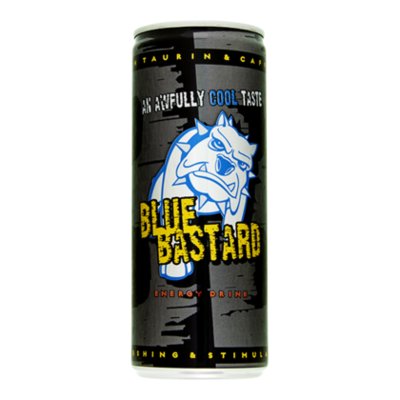 Blue Bastard Energy drank
