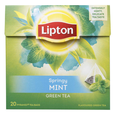 Lipton Green tea mint