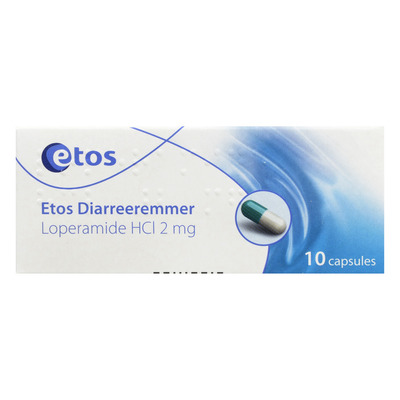 Huismerk Diarreeremmer 2 mg capsules