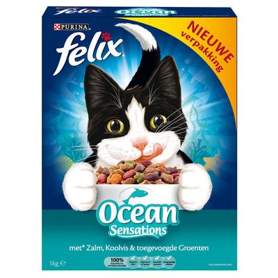 Felix Ocean sensations zalm/ koolvis/ groenten