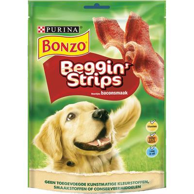 Bonzo Beggin' strips met baconsmaak