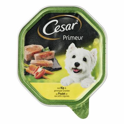 Cesar Primeur kip & groenten