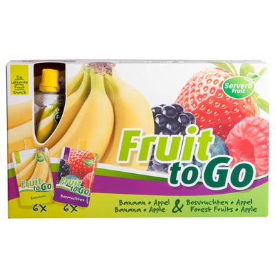 Servero Fruit to go banaan-appel & appel-bosvr