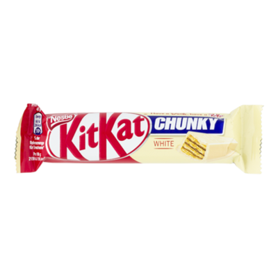 Nestlé Chocolade Kitkat chunky white single