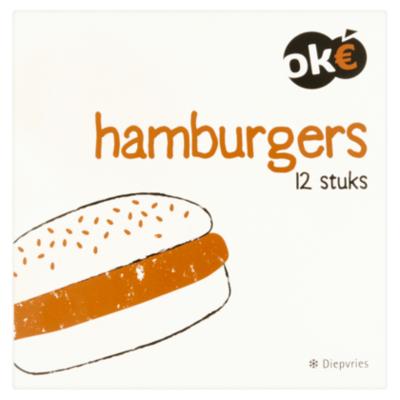 Budget Huismerk Hamburgers