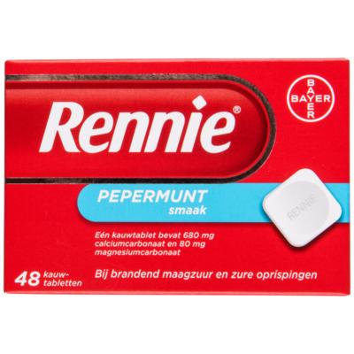 Rennie Kauwtabletten pepermunt