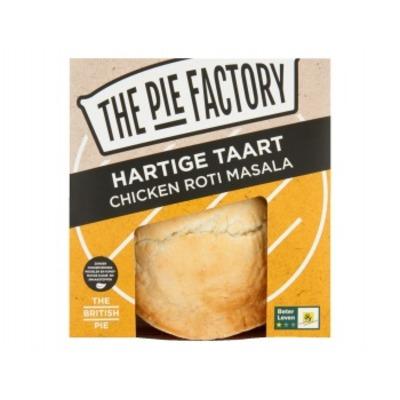 The Pie factory Pie chicken roti