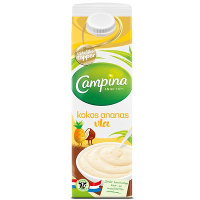 Campina Kokos-ananas - tijdelijke topper