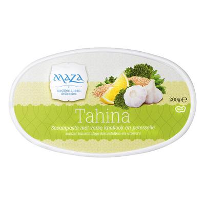 Maza Tahina vegetarisch
