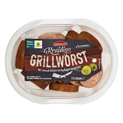 Zandvliet Kruidige grillworst glutenvrij