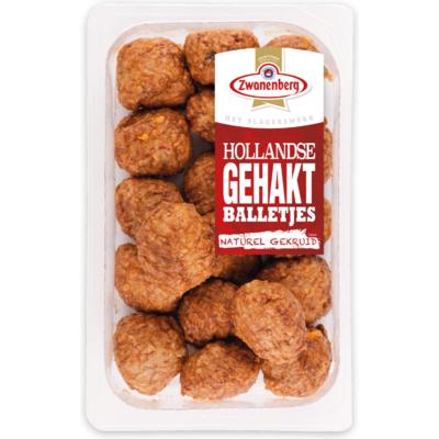 Zwanenberg Hollandse gehaktballetjes kant & klaar