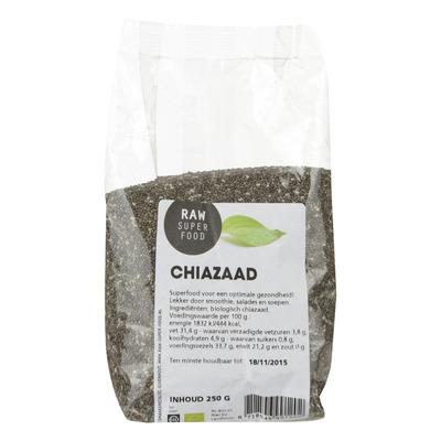 Raw Organic Food Chiazaad raw biologisch