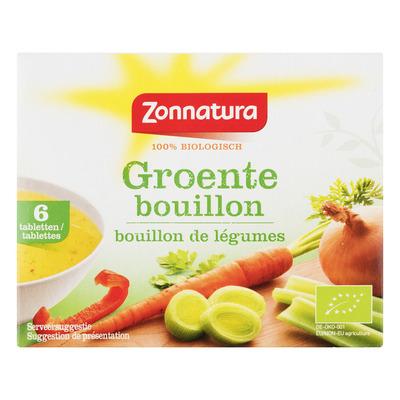 Zonnatura Groentebouillon tabletten