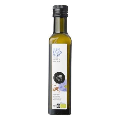 Raw Organic Food Lijnzaad olie