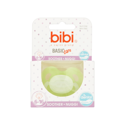 Bibi Basic Care Soother - Nuggi 6-