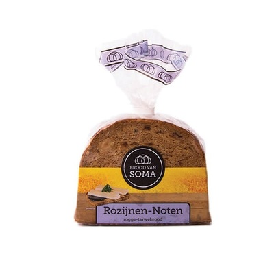 Soma Roggebrood rozijnen noten