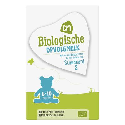 Huismerk Biologisch Opvolgmelk standaard 2