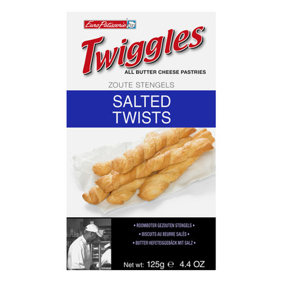 Euro Patisserie Twiggles snack zout