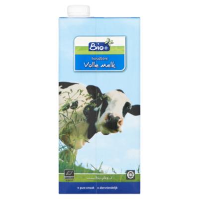 Bio+ Volle houdbare melk