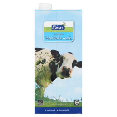 Bio+ Houdbare halfvolle melk
