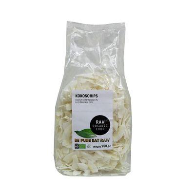 Raw Organic Food Kokoschips