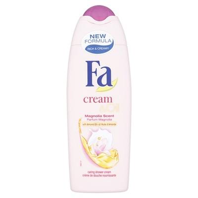 Fa Cream & Oil Douche Silk Magnolia