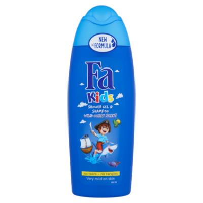 Fa Kids douche & shampoo pirate
