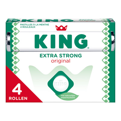 King Extra strong 4-pack