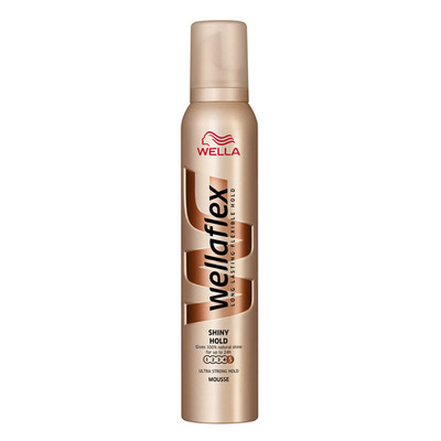 Wella Mousse glanzend hold ultra strong hold