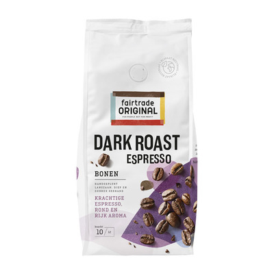 Fairtrade Original Espresso bonen dark roast