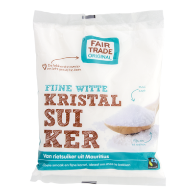 Fair Trade Original Fijne witte kristalsuiker Fairtrade