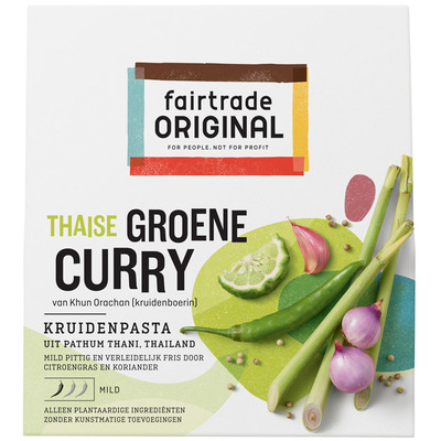 Fairtrade Original Groene curry kruidenpasta