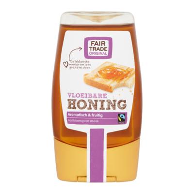 Fairtrade Original Vloeibare Honing in Knijpfles